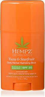 product image for Hempz Yuzu & Starfruit Daily Herbal Hydration Stick SPF 30, 1.6 Ounce
