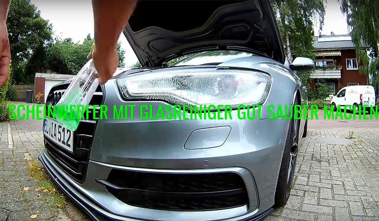 1A Style Sticker Adesivo per fanali Auto di Prima Classe Nero Chiaro fanale Posteriore Americano Pellicola Tuning Grigio 200 cm