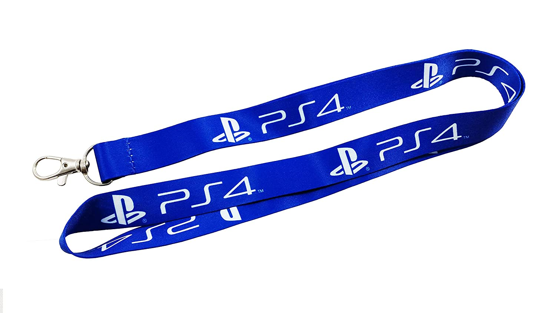 2) Playstation 4 cuerdas de seguridad/llavero con clip para ...