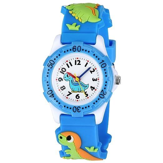Kinder Uhr Zeiger Kinderuhren 3d Cartoon Dinosaur Armbanduhr