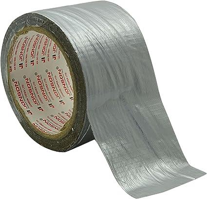 Jonson en algodón cinta adhesiva de la prueba del agua cintas gris ...