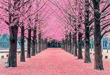 Amazoncom Leyiyi 5x3ft Spring Garden Flower Trees