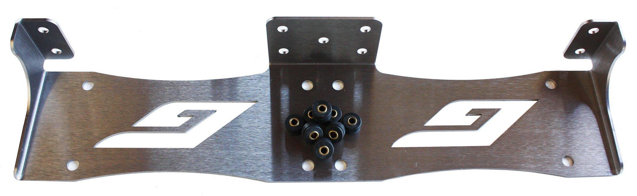 Grunion Dual Compressor Mounting Bracket for Viair 444C/480C Air Ride Suspension