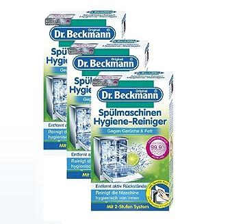 3 x Dr. Beckmann Lavavajillas Higiene Limpiador de 75 g: Amazon.es ...