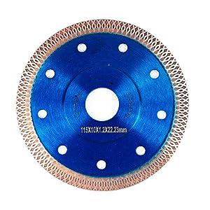 "GoYonder 4.5 Inch Super Thin Diamond Saw Blade for Cutting Porcelain Tiles,Granite Marble Ceramics (4.5"")"