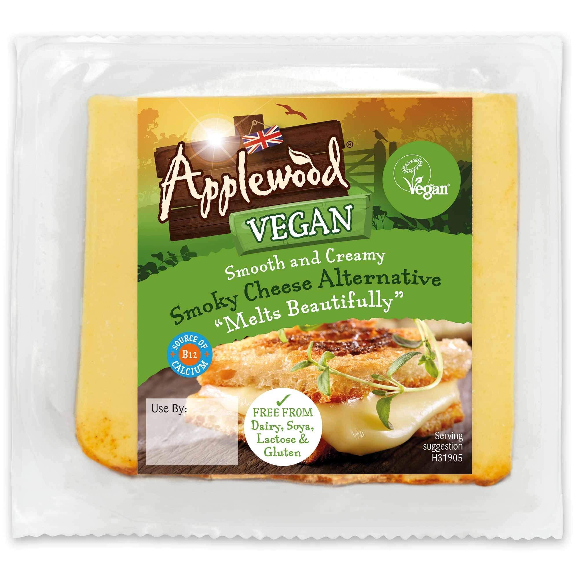 Applewood Smoky Vegan Cheese Alternative - 8x200g