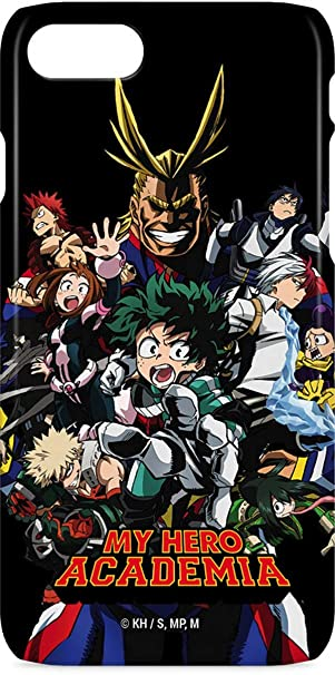 new styles 77911 f2bc1 Amazon.com: My Hero Academia iPhone 7 Lite Case - My Hero Academia ...
