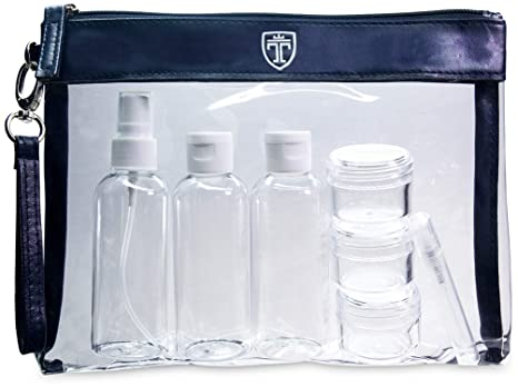 Amazon.com: Bolsa de aseo transparente aprobada por la TSA ...
