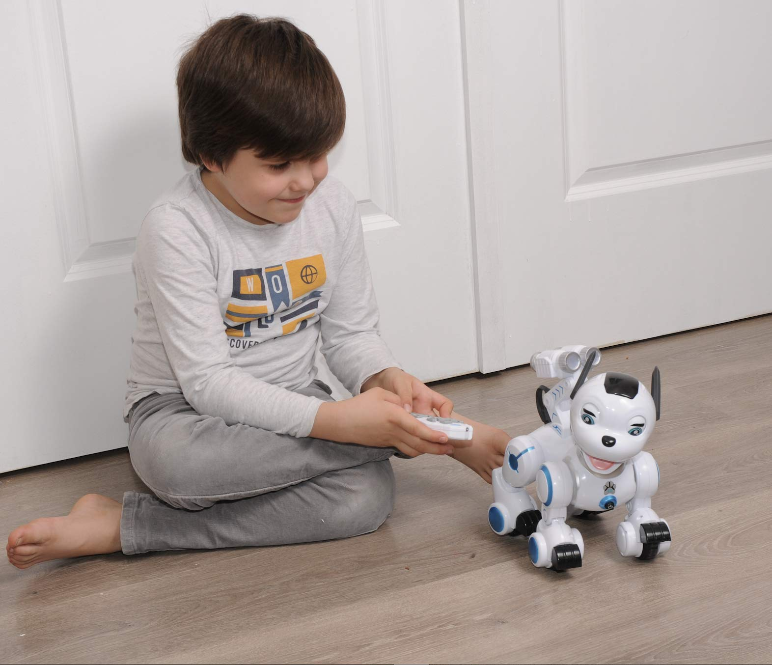 Bsmart toys Intelligent Hi-Tech Wireless Robot Dog ,Remote Control Educational Puppy Pet Best Birthday Gift for 5,6,7,8,9 Years Boys and Girls Interactive Robotic Friend by Bsmart toys (Image #7)