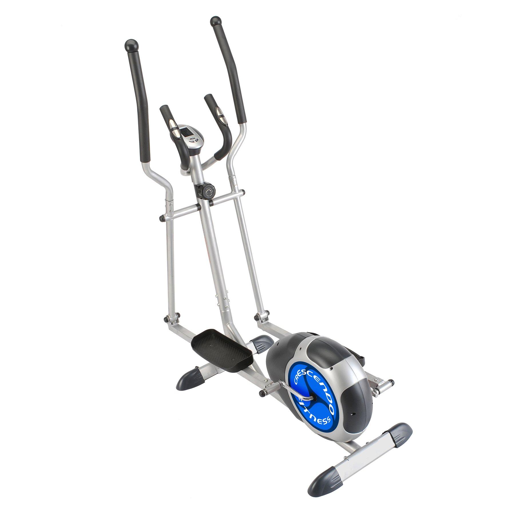Crescendo Fitness Magnetic Resistance Elliptical Cross Trainer