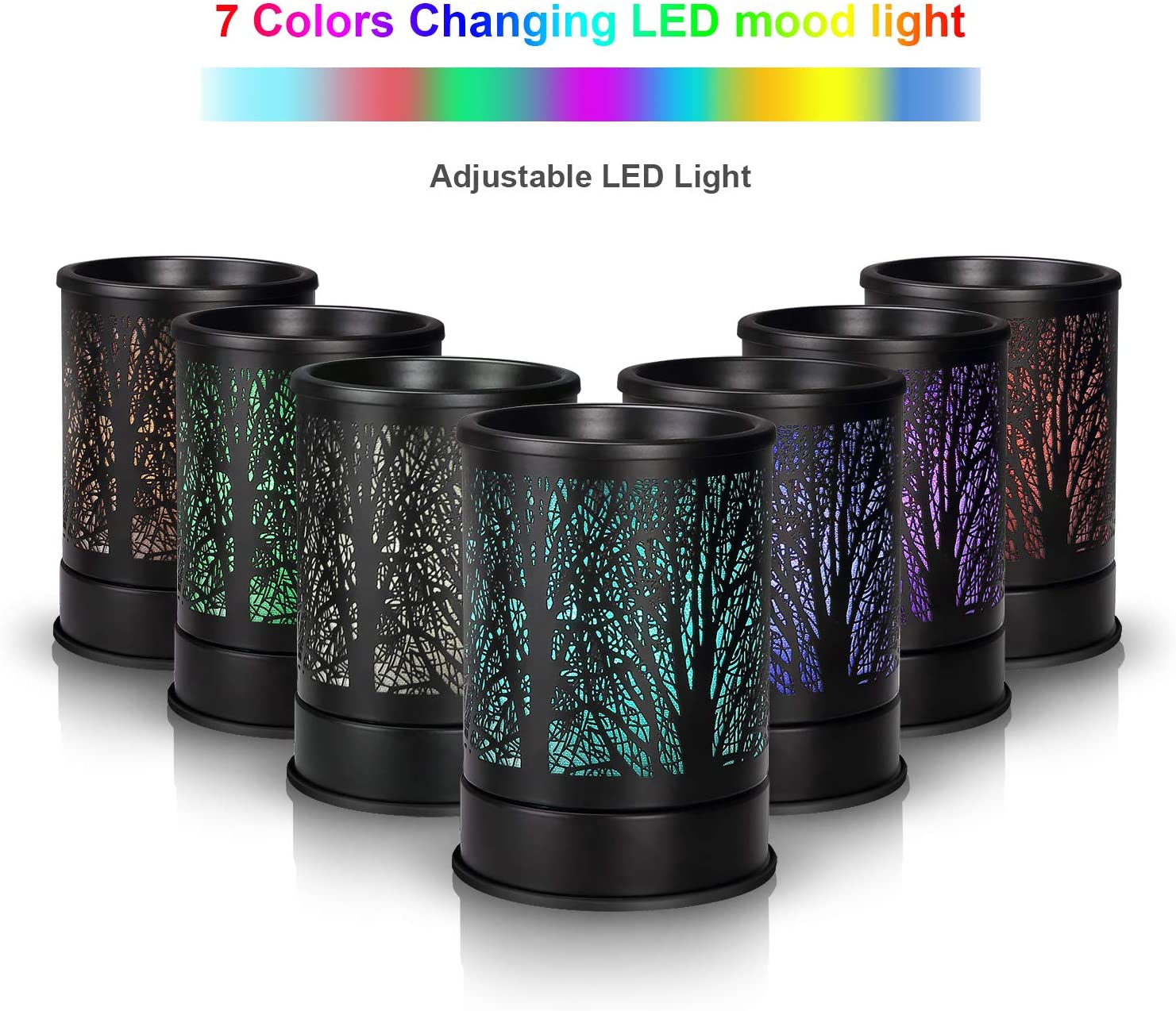 onoff switch Electric Translucent Glow wax melt tart burnerwarmer in Basket Weave design w light bulb UL listed cord