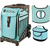 zuca sport bag calypso with gift lunchbox and seat cover brown frame - Zuca Frame