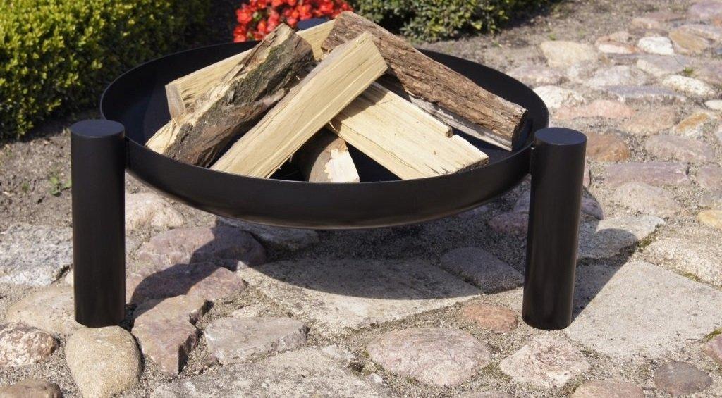 Braciere in metallo modello PAN37 diametro 70 cm, altezza 23 cm