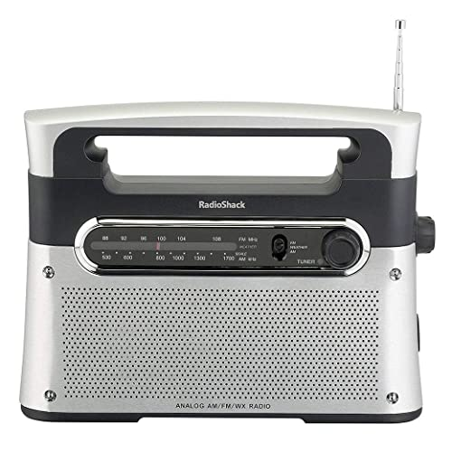 RadioShack Portable Analog Tuning AM/FM/Weather Tabletop Radio review
