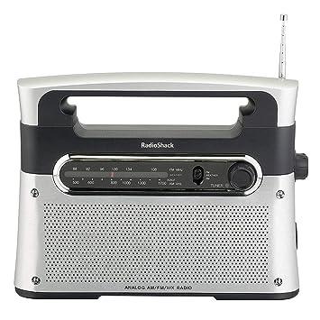 RadioShack - Radio de Mesa portátil y analógica: Amazon.es ...