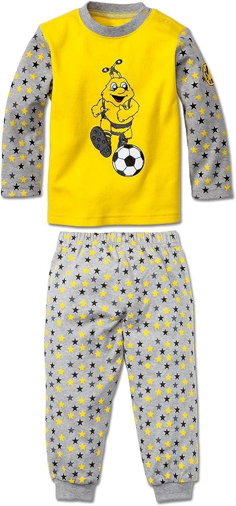 Borussia Dortmund BVB-Schlafanzug f/ür Kleinkinder 92