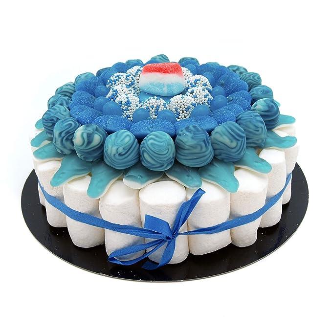 Tarta Golosinas - Blue 22 cm: Amazon.es: Alimentación y bebidas