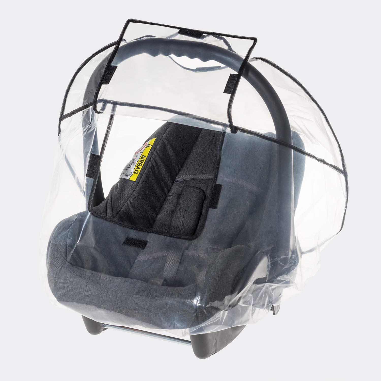 Reer 70538 - Protector para lluvia para capazo o silla de grupo 0+