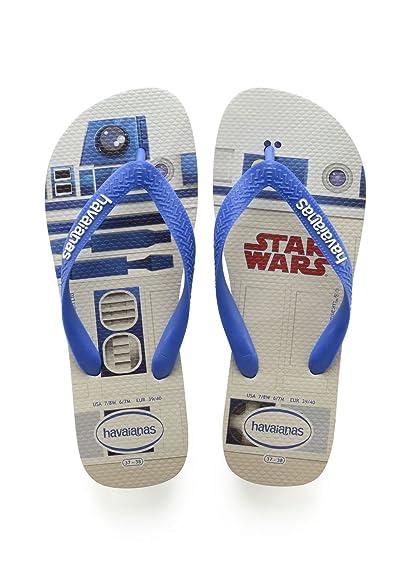 e5ea812209abf6 Havaianas Unisex Adults  Stars Wars Flip Flops  Amazon.co.uk  Shoes ...