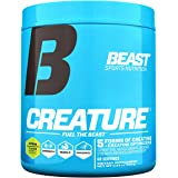 Beast Sports Nutrition – Creature Creatine Complex with Creapure® – Fuel Muscle Growth – Increase Strength – Enhance Enduranc