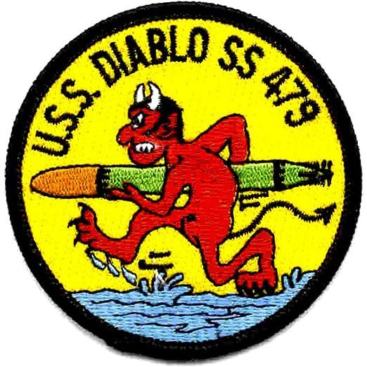 Amazon com: SS-479 USS Diablo Patch - Version A: Clothing