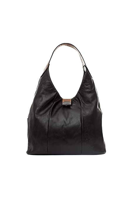 Mamatayoe Tacio, Sac bandoulière pour femme (Black) 15x46x39 cm (W x H x L)