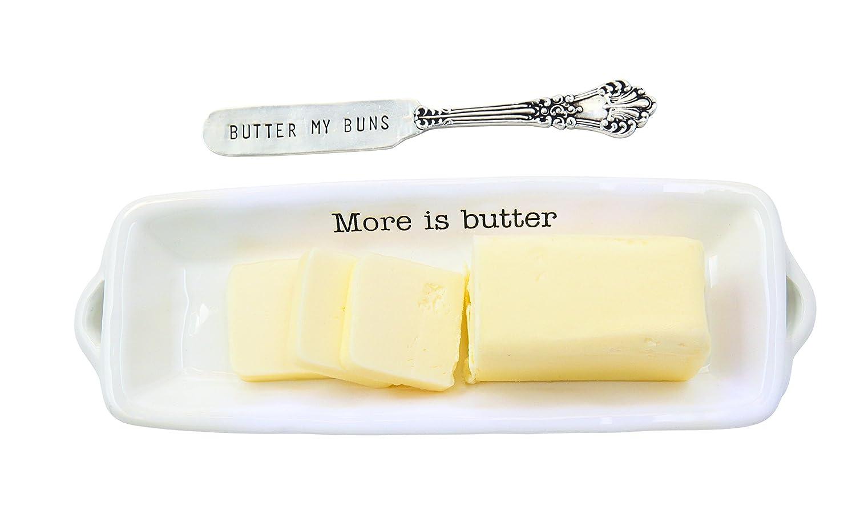 Mud Pie Circa Thanksgiving Butter Dish
