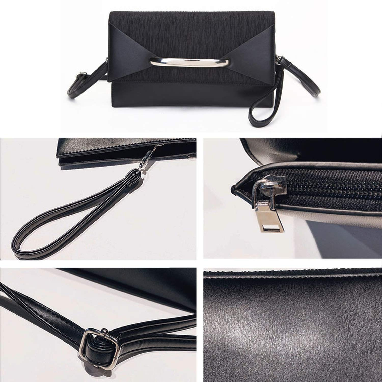 Envelope Clutch Bag Women Leather Birthday Party Evening Clutch Bags for Women Ladies Shoulder Clutch Bag Purse Female