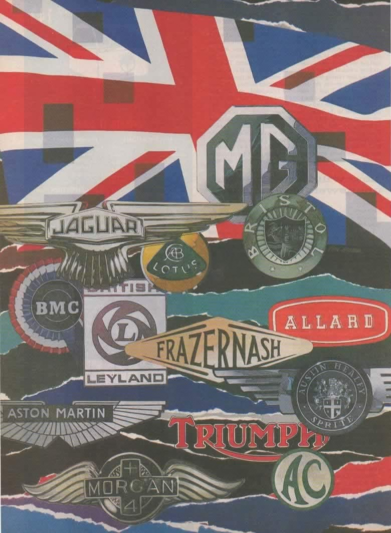Magazine Print Article British Sports Car Logos Where Have All The Sports Cars Gone 1982 Road Track Magazine Article By Tony Hogg Illustrated By Paul Kratter At Amazon S Entertainment Collectibles Store