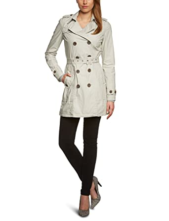 sneakers for cheap aa722 a5ad1 LTB Jeans Damen Trench Coat 4409 Pucal