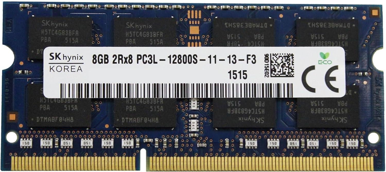 Hynix Original 8GB (1x8GB) Laptop Memory Upgrade Compatible with Dell Alienware, Inspiron, Latitude, Optiplex, Precision, Vostro DDR3L 1600Mhz PC3L-12800 SODIMM 2Rx8 CL11 1.35v DRAM RAM Adamanta