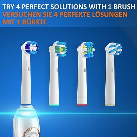 REDTRON Recambios Cepillo Compatible con Braun Oral-B, 16Pzs Cabezales de Repuesto Compatible con Eléctrico Oral B Precision, Floss, Cross, Whitening: Amazon.es: Salud y cuidado personal