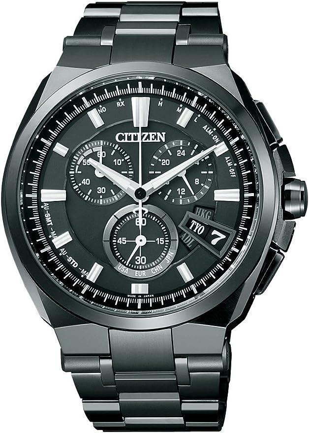 [シチズン] 腕時計 アテッサ エコ・ドライブ ダイレクトフライト針表示式 BY0044-77E ブラック