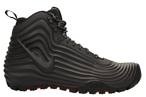 pretty nice fdfc5 4bf52 Nike Mens Lunardome 1 ACG SneakerBoots Black Dark Grey 654867-090 Size 14