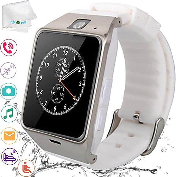 Amazon.com: Smart Watch Bluetooth Smartwatch Fitness Tracker ...