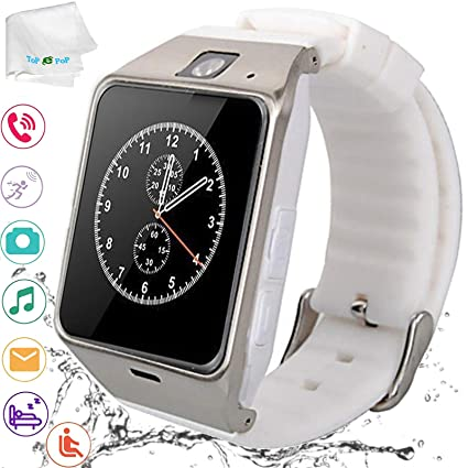 Amazon.com: Smart Watch Bluetooth Wrist Watch Pedometer ...