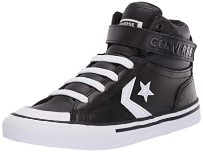 6d6c7ee81d68 Converse Boys Kids  Pro Blaze Strap Leather High Top Sneaker