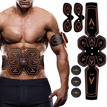 ABS Stimulator Muscle Stimulator Pads Abdominal Muscle Toner Gel Pads for Abs Toner Ems Muscle Stimulator UYGHHK 50 Pcs Abs Trainer Replacement Gel Pad