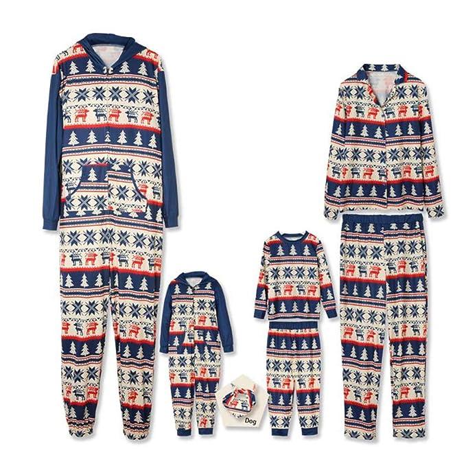 5f68f312d PatPat Matching Family Pajamas Sets Hooded Family Onesie Pajamas ...