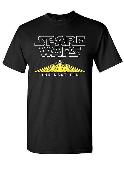 Strange Cargo Spare Wars Bowling Team Funny Parody Bowler League Tshirt