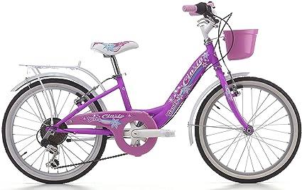 CINZIA - Bicicleta para niña Candy de 20 Pulgadas, Cambio de 6 V ...