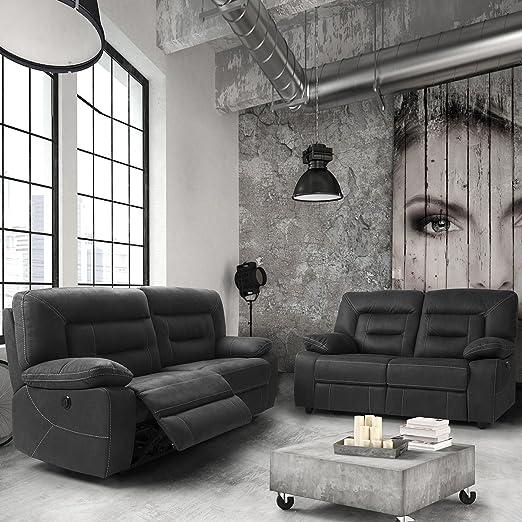 AltoBuy Almeria - sofás Relax eléctricos 3 plazas y 2 plazas ...