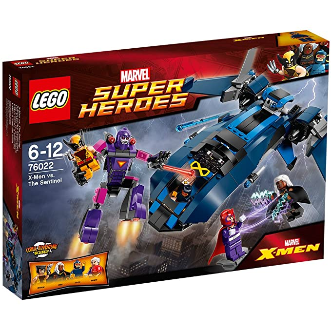 LEGO Super Heroes 76022: X-Men Vs. The Sentinel: Amazon.co.uk: Toys ...