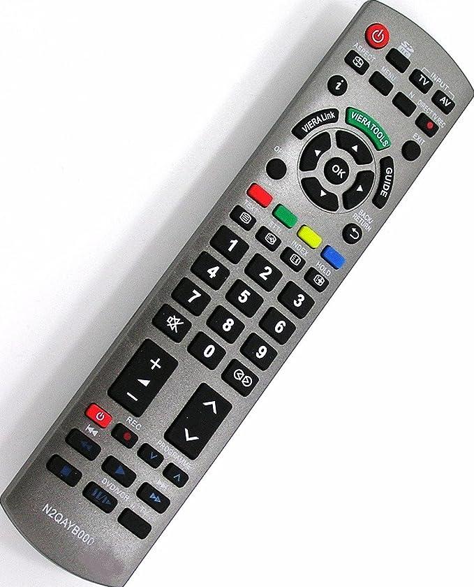 N2QAYB000353 Mando a distancia para Panasonic Viera L37V10B TX-L37V10E TX-P42G15B TX-P42G15E: Amazon.es: Electrónica