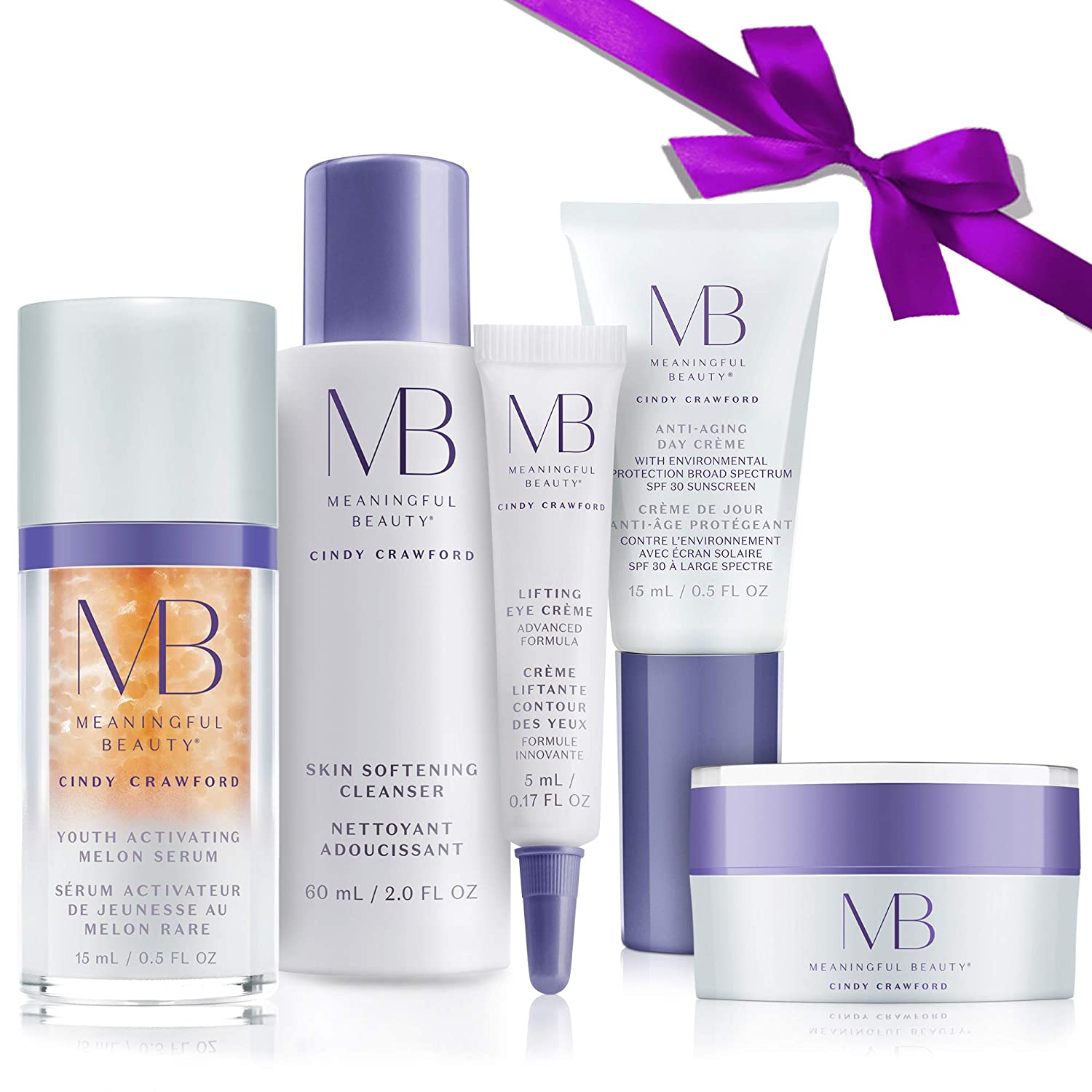 Meaningful Beauty5-Piece Anti-Aging Starter System , For Lifting, Firming, Fine lines & Wrinkles