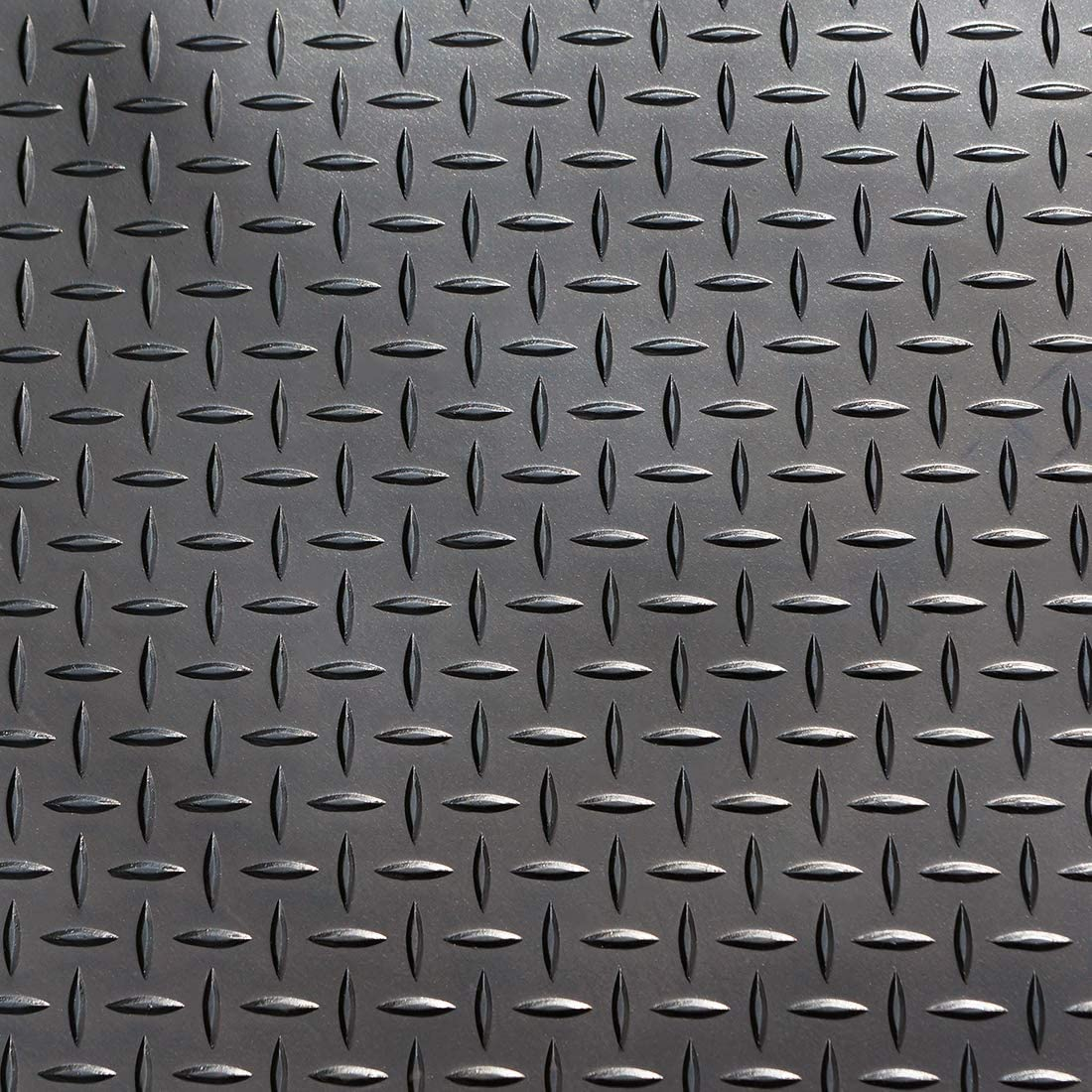 3mm 4m² Riffelblechmatte Gummimatte 1,50 x 2,67m