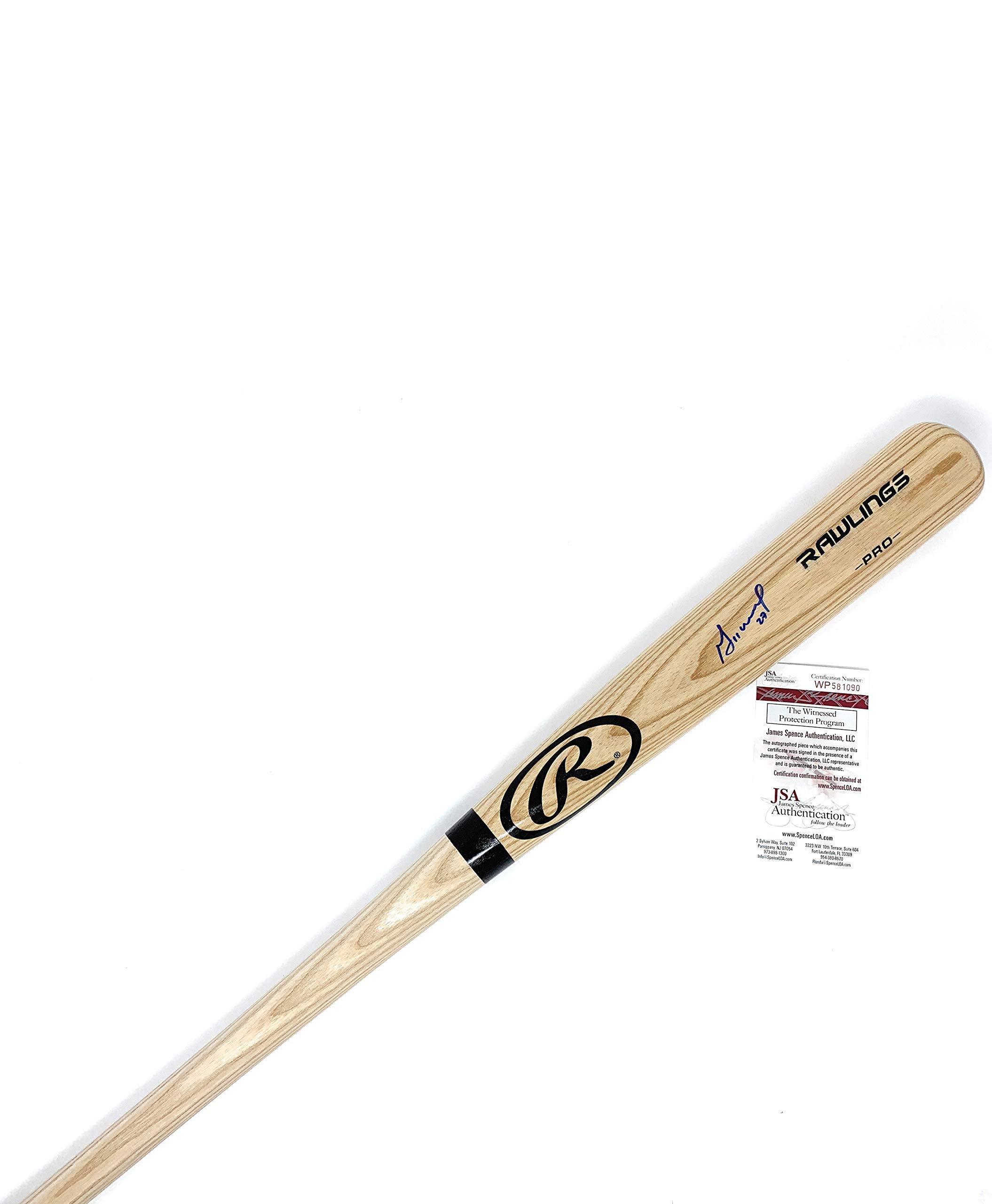 Jose Altuve Houston Astros Signed Autograph Baseball Bat Altuve GTSM Holo JSA Witnessed Certified