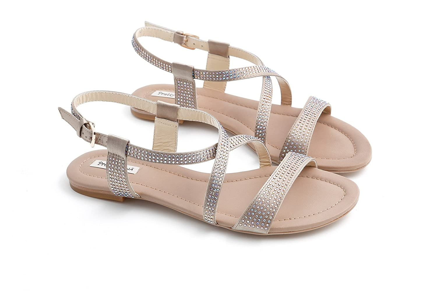 Pretty Damen Nana , Damen Pretty Sandalen Taupe 72cd45