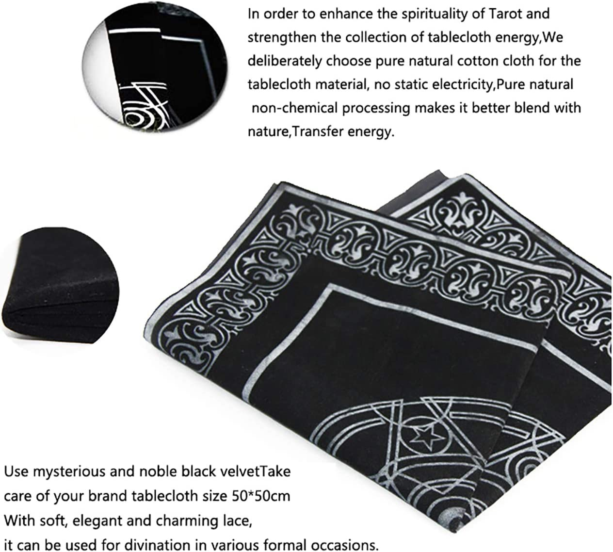 2020 New Butterfly Oracle Cards for Life Changes 44PCS//Set Tarot Card Set with Pentagram Retro Tablecloth