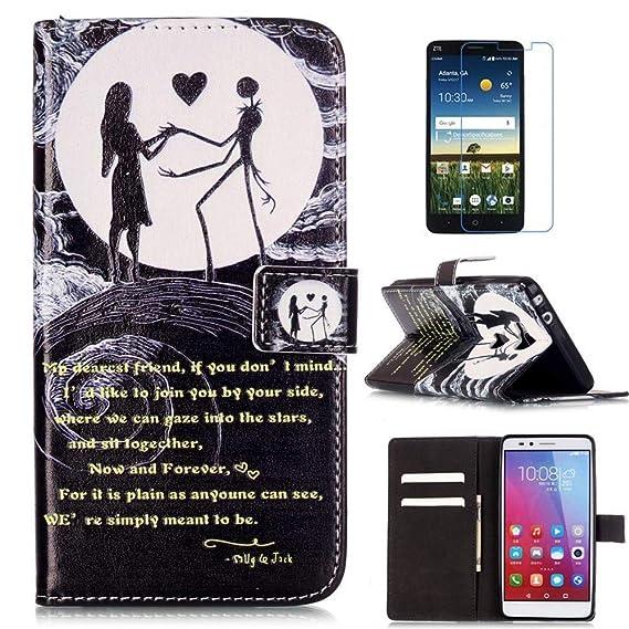 Huawei Ascend XT2 Case, H1711 Case, Huawei Elate 4G LTE Case, Mellonlu  Premium PU Leather Flip Folio Wallet [Kickstand Feature] [Wrist Strap]  Magnetic
